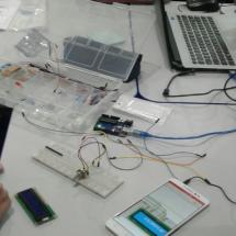 """Exemplos de materiais utilizados no projeto """"Prototipagem Eletrônica""""."""